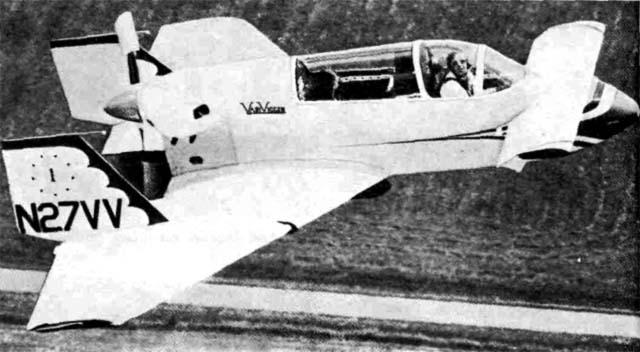 Названный в честь истребителя 'Вигген', самолет имел приставку 'Вари', означавшую изменяемую геометрию. К середине 1980-х гг. было продано примерно 900 комплектов деталей и оборудования для сборки этих самолетов. Основные данные: силовая установка - двигатель мощностью 150 л. с. (110 кВт) фирмы 'Лайкомииг'; размах крыла в первых вариантах самолета составлял 5,8 м, а впоследствии был увеличен до 7,2 м; исходная площадь крыла 11,1 м2; взлетная масса 770 кг; максимальная скорость 262 км/ч.